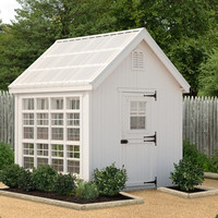 The Colonial Gable Greenhouse