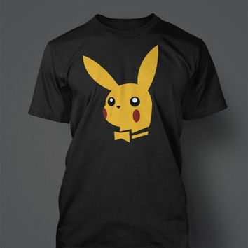 Playkachu - Playboy Pikachu - Pokemon T-Shirts