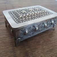 Morrocan Silver Antique Box