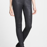 Junior Women's BP. Floral Embossed Leggings (Online Only)