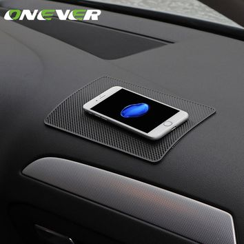Universal Auto Car Silicon Anti Slip Pad Dashboard Sticky Mobile Phone Pad Non Slip Mat Holder For GPS Cell Phones Car Styling