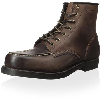 FRYE Arkansas Moc Toe Gaucho Leather Men's Boot