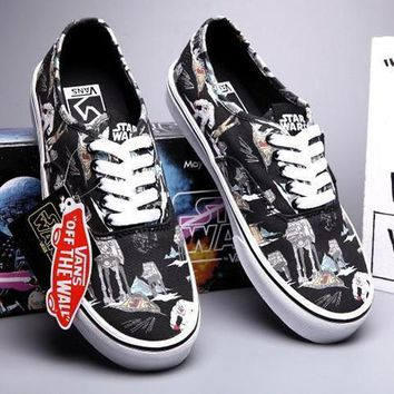 VANS X Peanuts Star Wars Canvas Old Skool Flats Sneakers Sport Shoes Day-First™