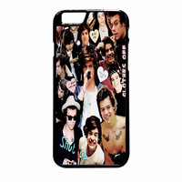 Harry Styles One Direction Collage Clothes Off iPhone 6 Plus Case