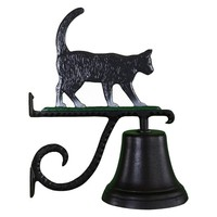 Cast Bell with Color Cat Ornament | www.hayneedle.com