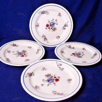 Copeland Spode China Dinnerware  Diana, #Y6986 set 4 Bread and butter Plate