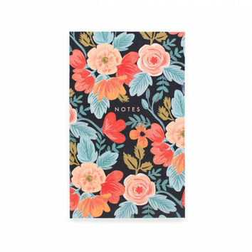 Russian Rose Small Notepad with Pocket