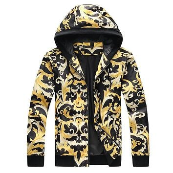 Boys & Men Versace Cardigan Jacket Coat