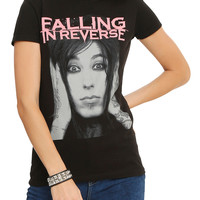 Falling In Reverse Ronnie Face Girls T-Shirt