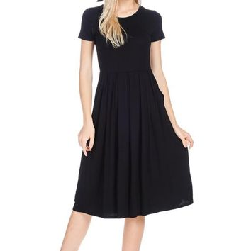 Kyle pocket midi dress