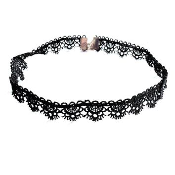 Lashing Out Lace Choker