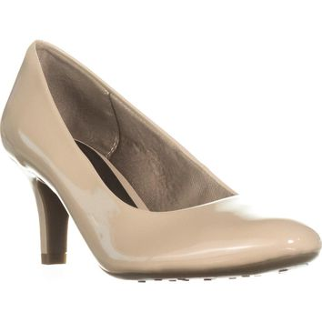LifeStride Parigi Comfort Dress Pumps, Taupe Glory, 9 W US