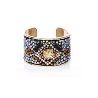 River Island Womens Gold tone multi-beaded cuff