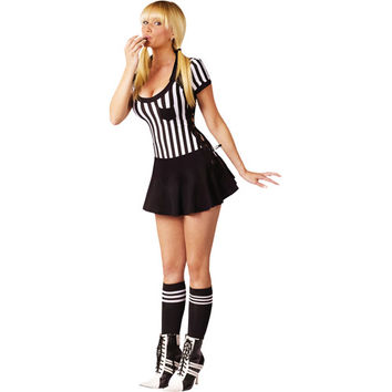 Walmart: Racy Referee Adult Halloween Costume