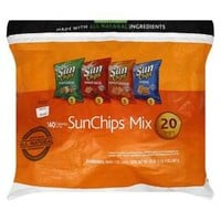 Sunchips Multigrain Snacks Variety Pack - 20 Count