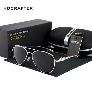 HDCRAFTER Brand New Fashion Women's  Sunglasses Vintage Large Sun Glasses polarized mirror Ladies driving glasses