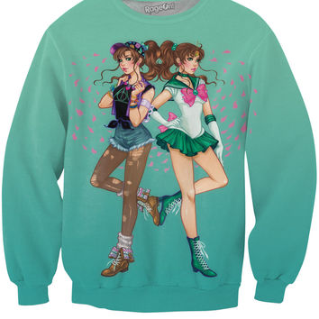 Double Sailor Jupiter Crewneck Sweatshirt