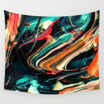 ABSTRACT COLORFUL PAINTING II-A Art Print by Pia Schneider