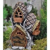 Pine Cone Townhouse - My Fairy Gardens