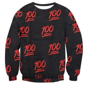100 Emoji Collage Sweatshirt