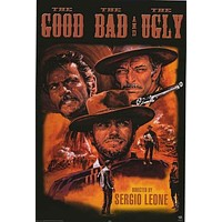 The Good The Bad and The Ugly Movie Poster 24x36