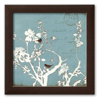 Art.com ''Song Birds Iv'' Framed Art Print by Amy Melious (Brown)