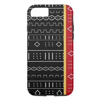 African Tribal Pattern iPhone 7 Case