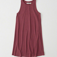 Womens Racerback Tank Dress | Womens New Arrivals | Abercrombie.com