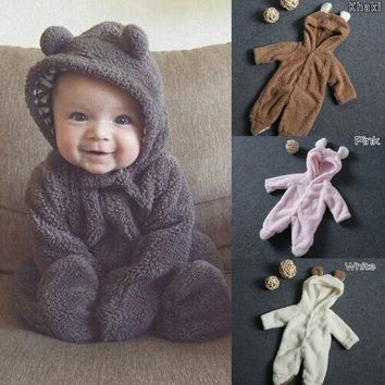 Newborn Baby Animal Romper
