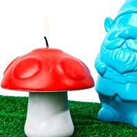 Toadstool Candle
