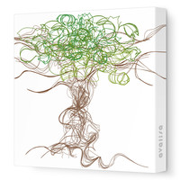 Avalisa Imagination - Branches Stretched Wall Art