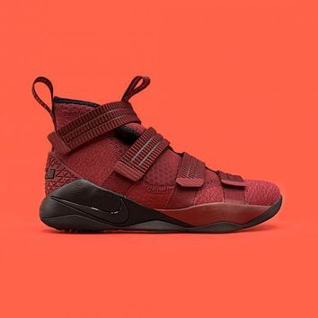 HCXX NIKE - Men - Lebron Soldier 11 SFG - Red/Black/White
