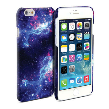 Snap Cover Glossy (Galaxy Pattern) for iPhone 6