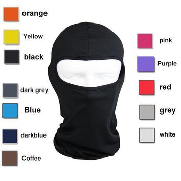 PEAPUNT Lycra Balaclava Face Mask Ultra Thin Motorcycle Bike Winter Mask Cycling Ski Neck Gaiter Outdoor Dustproof Windproof Mask