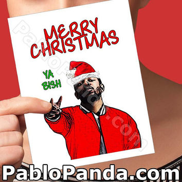 Christmas Cards | Kendrick Lamar | Holiday Cards Modern Christmas Funny Xmas Card Funny Christmas Girlfriend Card Boyfriend Gift Funny Wife