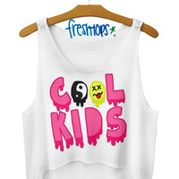 cool kids Crop Top