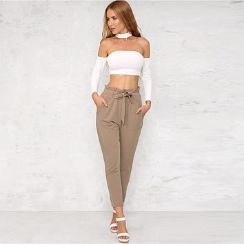 Womens Casual Stylish Pencil Pants
