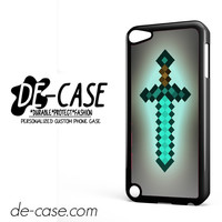 Minecraft Sword DEAL-7287 Apple Phonecase Cover For Ipod Touch 5