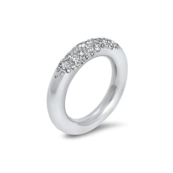 Commitment Fredag White Gold & Diamond Eternity Ring