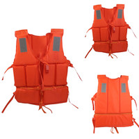 Adult General Purpose Life Jacket Vest With Survival Whistle