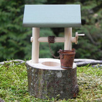 Fairy Garden Wishing Well - miniature