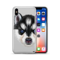 Husky Puppy - Clear Case Cover