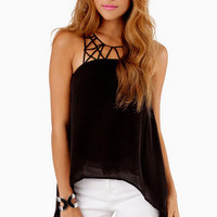 Spider Web Tank Top $33