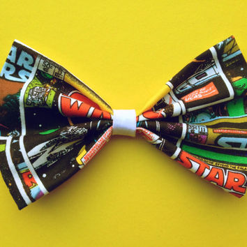 Star Wars Comic Book Hair Bow/Bow Tie