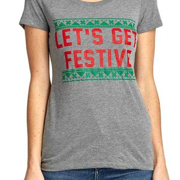 Taylor Wolfe Let's Get Festive Tee