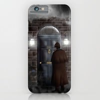 Haunted sherlock holmes house 221b iPhone 4 4s 5 5c, pillow case, mugs and tshirt iPhone & iPod Case by Three Second