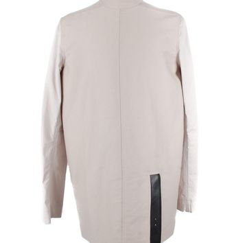 Rick Owens Taupe Cotton Tunic