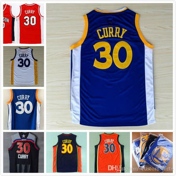2017 All style #30 Stephen Curry Jersey 100% Stitched Throwback College Curry Jerseys all star High Quality Steph Curry Basketball Jersey