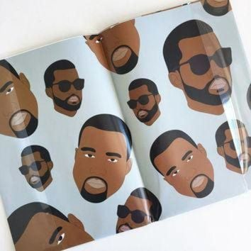 DCK7YE RAPPING PAPER, Kanye West Wrapping Paper (Yeezy, Yeezus, Funny Cards, Kanye Funny Card