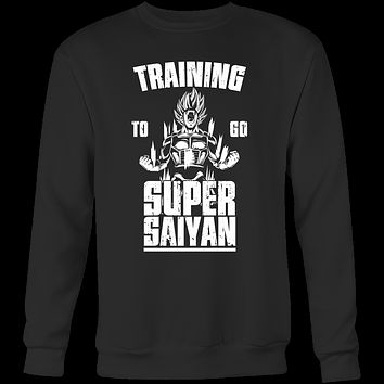 Super Saiyan - Training to go super saiyan - Unisex Sweatshirt T Shirt - TL01163SW